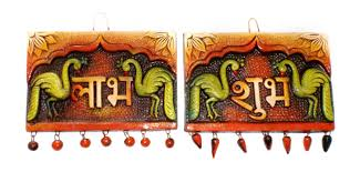Dng Design Buy Dng Products Clay Labh Subh Design Hanging Multi