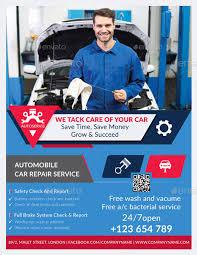 Auto Repair Flyer Auto Repair Flyer