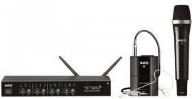 <b>AKG DMS</b> Tetrad Mixed Set цифровая <b>радиосистема</b>: DSR Tetrad ...