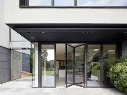 schuco aluminium bifolding sliding doors
