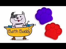 the worlds first bath time assistant for dogs bath buddy by rob hoover