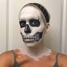 american horror story tate langdon skull makeup tutorial makeup daily
