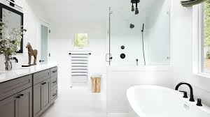 white master bathrooms. White Master Bathrooms E