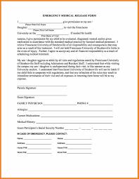 Sample Medical Release Form Medical Form Templates Teller Resume Sample 7