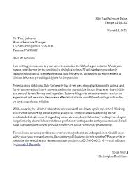Cover Letter In Response To Online Job Posting Latest Cover Letter