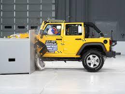2018 jeep wrangler 4 door driver side small overlap iihs crash test you