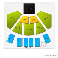 River City Casino Concert Capacity City 2019