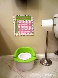 potty training chart printable diy inspired