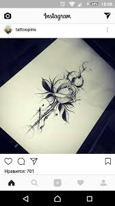 пин от пользователя арина данилова на доске тату татуировка цветы