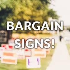 June 2019 Bargain Lawn Signs Kbmedia