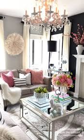 Gorgeous Living Rooms - I love mirrored coffee tables, so I was excited  when I saw these from HomeGoods! They go perfect in my living room and add  that ...