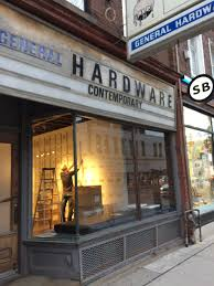 I'm flexible on delivery too. General Hardware Contemporary 1520 Queen St W Toronto On M6r 1a4 Canada