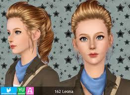 Custom Sims 3: YU162 Leona