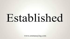「established」の画像検索結果