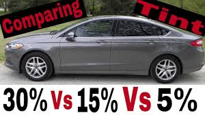 35 window tint comparison.  Comparison Comparing Window Tint 30 Vs 15 5 Throughout 35 Tint Comparison I