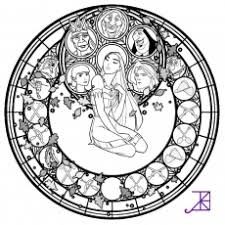 Small Picture 13 Pics Of Kingdom Hearts Stained Glass Coloring Pages Disney