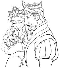 Small Picture Coloring Pages Rapunzel Colouring Disney Tangled Coloring Pages