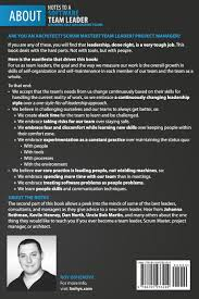 notes to a software team leader growing self organizing teams notes to a software team leader growing self organizing teams roy osherove 9788299933209 com books