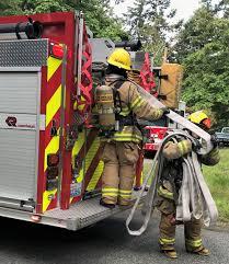 San Juan Island Firefighters respond to residential fire in Westcott ...