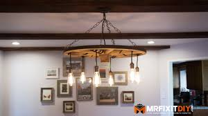 diy wagon wheel chandelier with mason jars jar small downlights how to archived on lighting