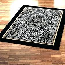leopard print rug area round animal rugs pink zebra