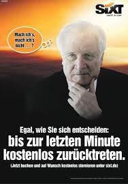Ministerpresident, horst seehofer bei pelzig in der sendung vom 20.5.2010.zusammenschnitt der wichtigen scenen aus der sendung.!!! So Macht Sich Der Autovermieter Sixt Jetzt Uber Horst Seehofer Lustig Business Insider