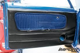 diy interior color change dyed door panel 09