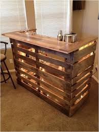 diy l shaped outdoor bar pallet bar table diy quick and easy instructions