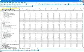 Home Budget Spreadsheet Template Excel Free Simple Worksheet ...
