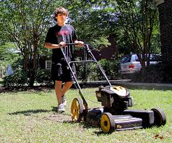 summer jobs for teens blog teenage boy mowing the lawn summer jobs for teens