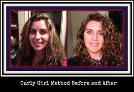 Hair Style Before And After the curly girl method before and after pictures youtube 2298 by wearticles.com