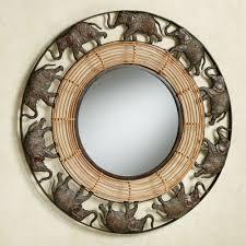 Elephant Parade Wall Mirror Multi Earth