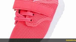 Dadawen Boys Girls Lightweight Breathable Sneakers Strap