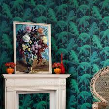 Palm Jungle Grijs 951007 De Mooiste Muren