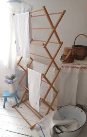 home design wooden drying rack vintage washing airer just added to our website link details