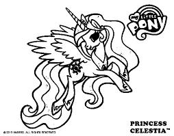 Small Picture Princess Celestia coloring page Coloringcrewcom