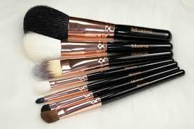 morphe brushes rose gold brush set