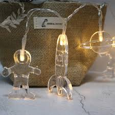 Astronaut String Lights Amazon Com Halloween String Lights Battery Operated 20pcs