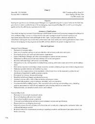 Resume Best Of Project Management Resume Templates Project