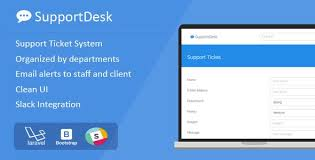 Supportdesk Support Ticket Management System Code