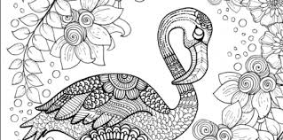 flamingo coloring pictures. Simple Pictures Flamingo Coloring Pages Intended Pictures N
