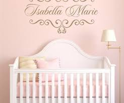 vinyl decal personalized baby nursery name vinyl wall
