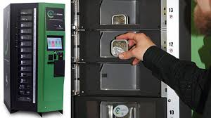 Marijuana Vending Machine Cool Marijuana Vending Machine By Calif Company ABC News