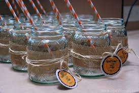 Decorating With Mason Jars And Burlap Mason Jar Burlap Glasses 100 Sew Woodsy 17