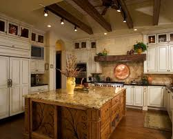 Custom Tuscan Style Kitchen Country Tuscan Kitchen Decor