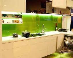 kitchen backsplash glass tile green. Green Kitchen Backsplash Glass Glossy Tiles With White  Cabinets And Modern Rack Under Tile L