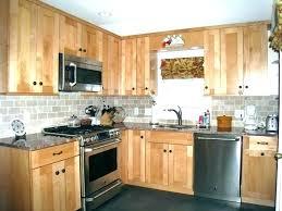 cherry shaker cabinet doors. Shaker Kitchen Cabinet Doors Cherry Unfinished Cabinets White Wood Style S