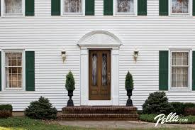 pella front doorsPella Architect Series fiberglass front doors create instant