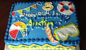 Pool Party Cakes Ideas Inficuscom