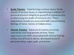 Image result for trauma feelings
